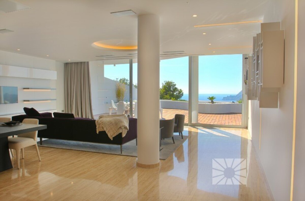 A16: Penthouses for sale in Altea